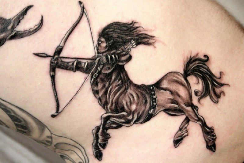 Great Sagittarius Tattoo