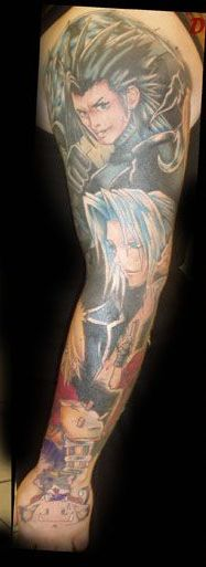Great Video Game Sleeve Tattoos