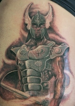 Great Warrior People Tattoo