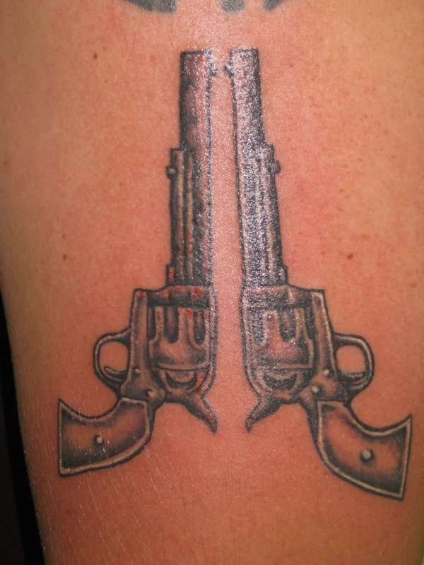 Grey Pistols Tattoo