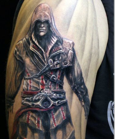 Guy Gets A New Assassin's Creed Tattoo
