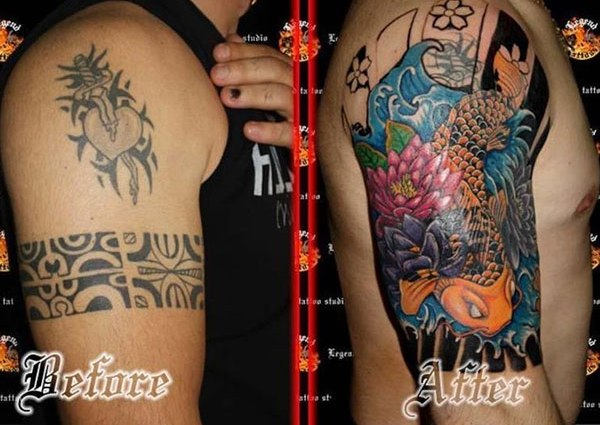 Half Sleeve Cover Up Tattoos