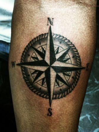 Have A Great Nautical Compass Tattoo!