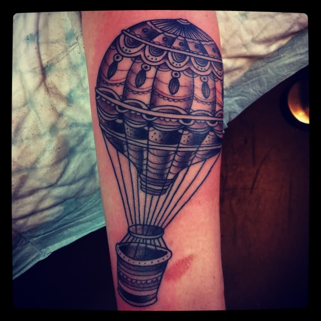 Have A Hot Air Balloon Tattoo