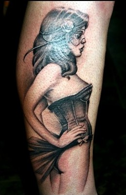 Have A Pin Up Girl Tattoo!