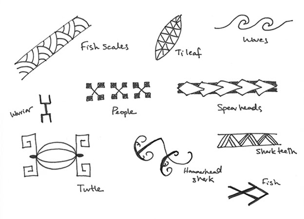 Hawaiian Symbol Tattoos