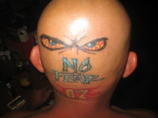 Hilarious Head Tattoos