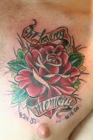In Loving Memory - Rose Tattoo