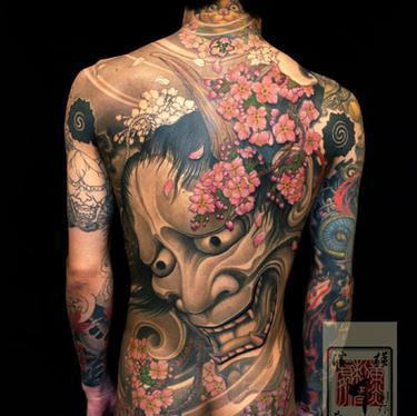 Incredible Asian Tattoos On Entire Body