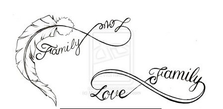 Infinity Symbol Tattoo Designs