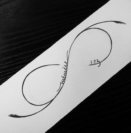 Infinity Symbol Tattoo Page