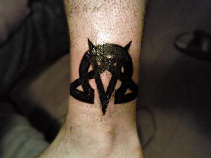 Itattooz Religious Symbol Tattoo On Ankle