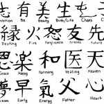 Kanji Chinese Symbols Tattoos Collection For Men