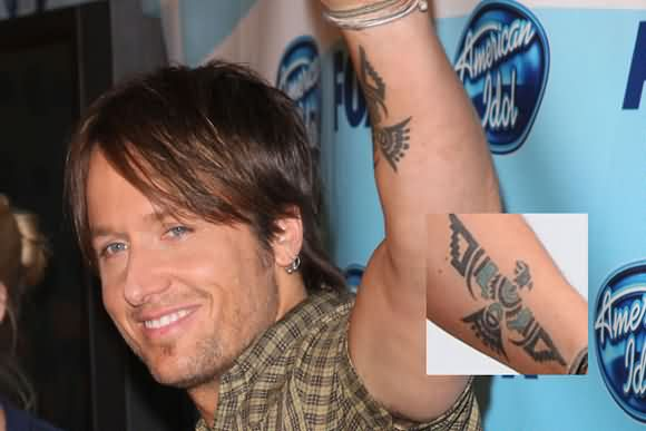 Keith Urban's Arm Tattoo