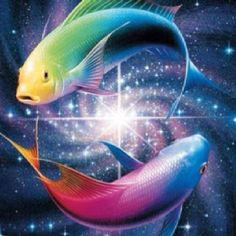 Latest Color Fish Pisces Tattoo Graphic