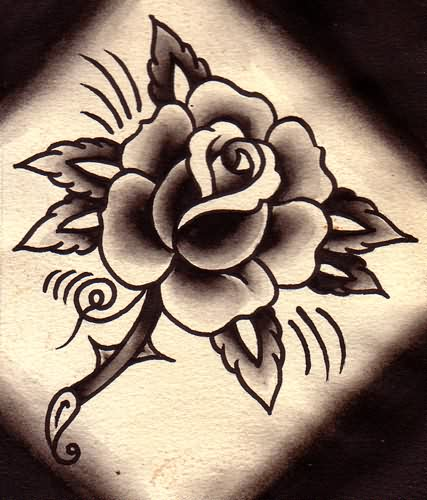 Latest Rose Tattoo Flash