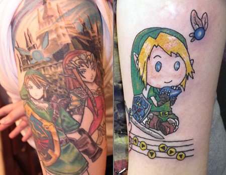 Legend Of Zelda Tattoos