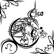 Leo Symbol Tribal Tattoo Design