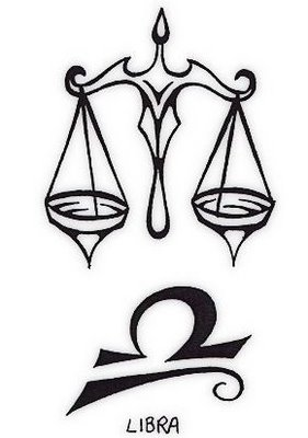 Libra Symbol Tattoo Designs