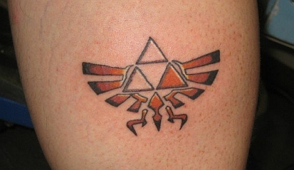 Little Size Zelda Tattoo