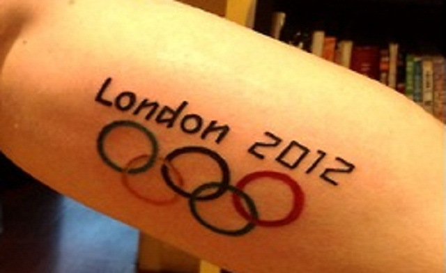 London 2012 Olympic Tattoo