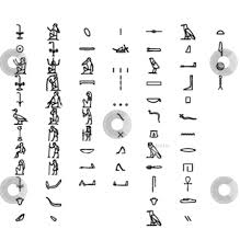Lots Of Egytian Symbol Tattoo Designs