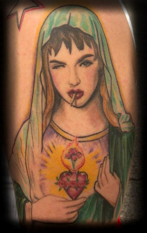 Madonna Smoking - People Tattoo