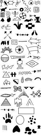 Many Native American Symbols Tattoo Designs