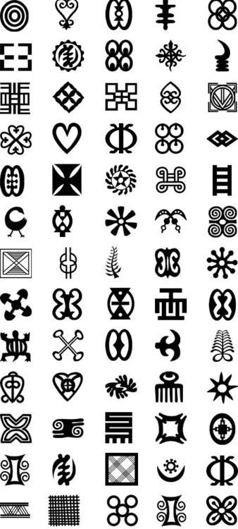 Many Symbol Tattoo Designs