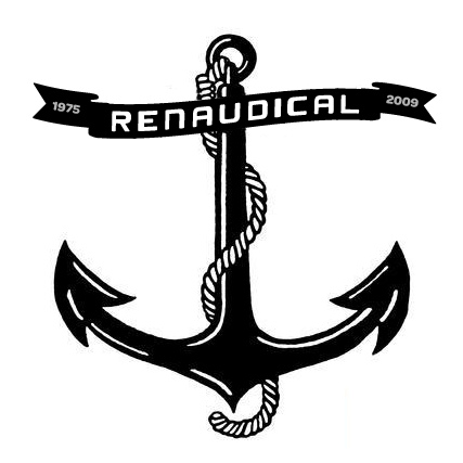 Memorable Black Ink Anchor Tattoo Stencil
