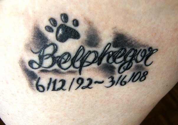 Memorable Cat Paw Tattoo
