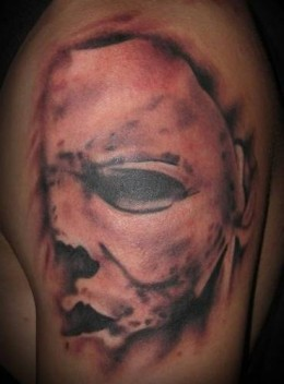 Michael Myers Mask - People Tattoo