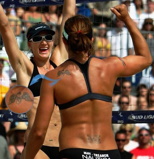 Misty May Treanor's Tattoos