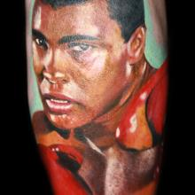 Muhammad Ali Portrait - People Tattoo