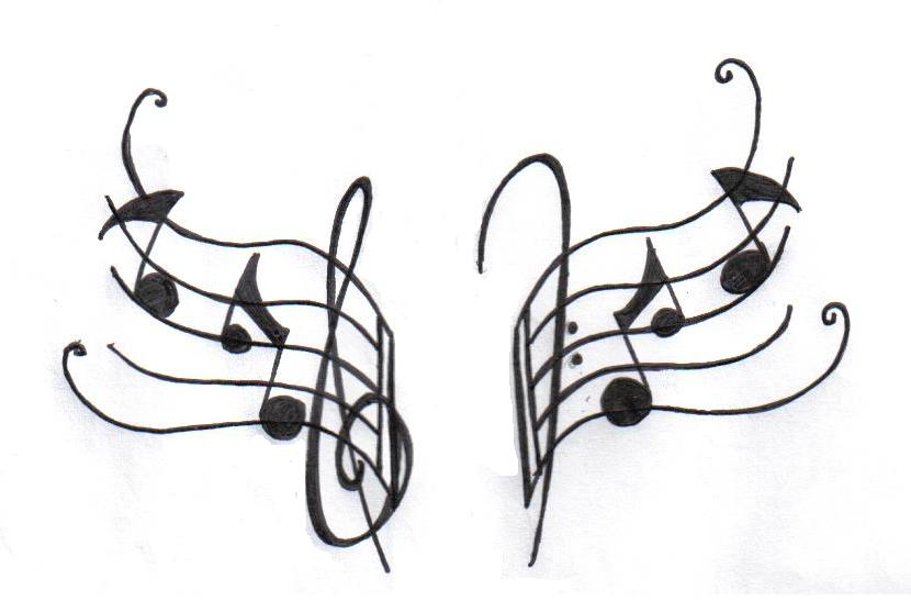 Musical Symbol Tattoos