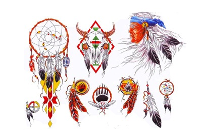 Native American Symbol Tattoo Designs