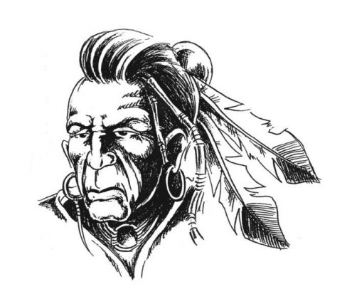 Native American Tattoo Sample