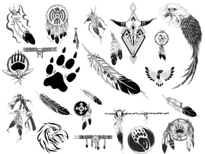 Native American Tattoos Collection