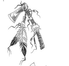 Native American Tattoos Sample