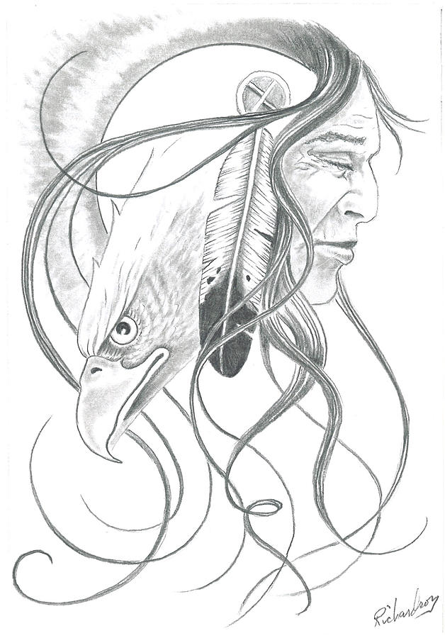 Native American Tattoos Sketch