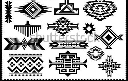 Native American Vector Set