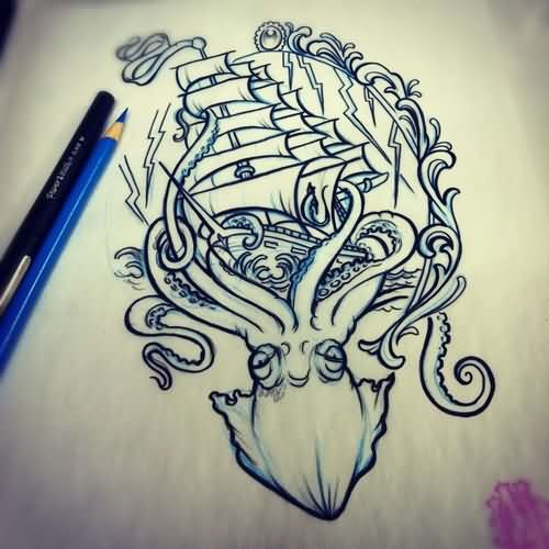 Nautical Tattoos Sketch