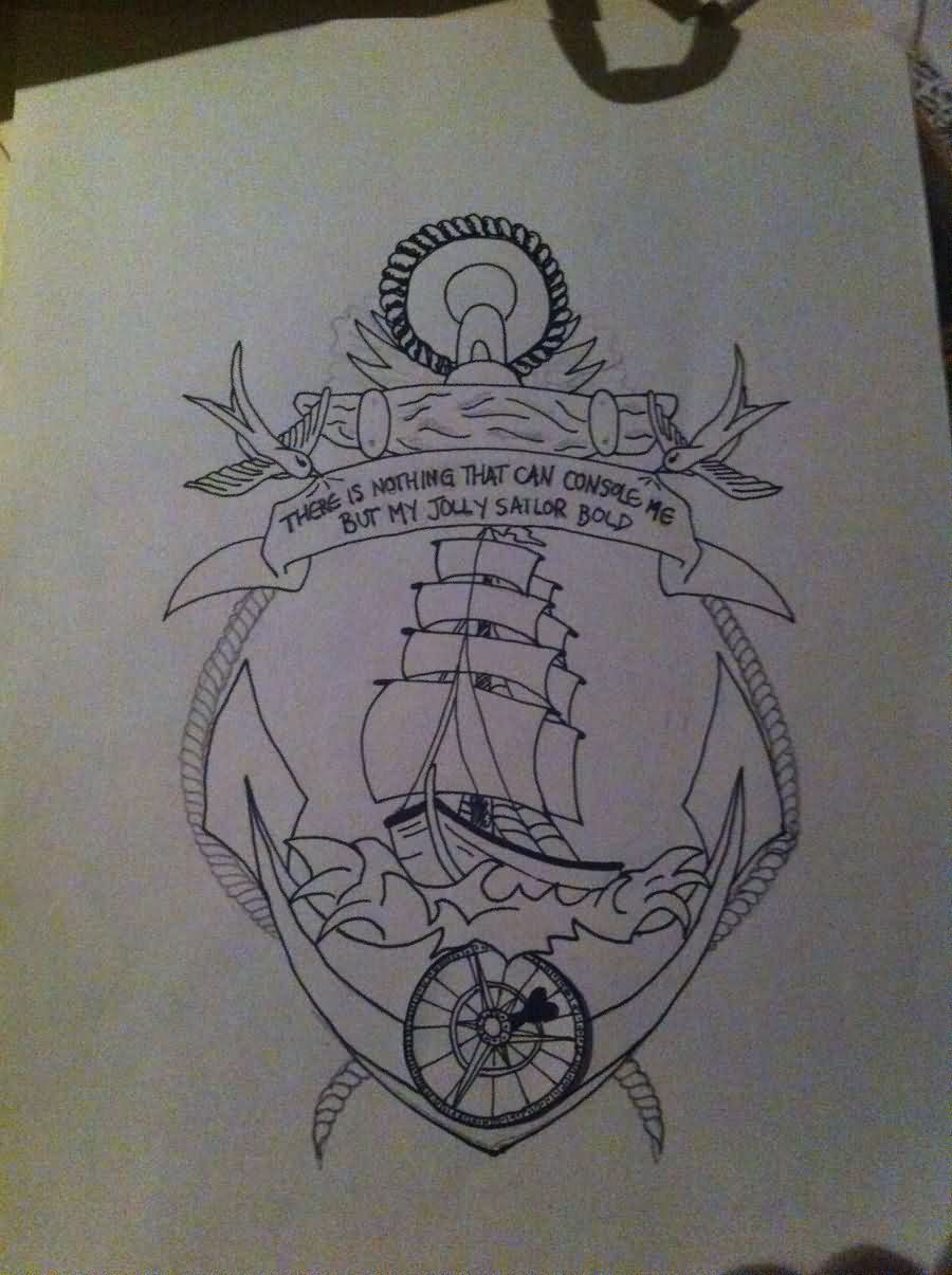Nautical Themed Tattoo Designs
