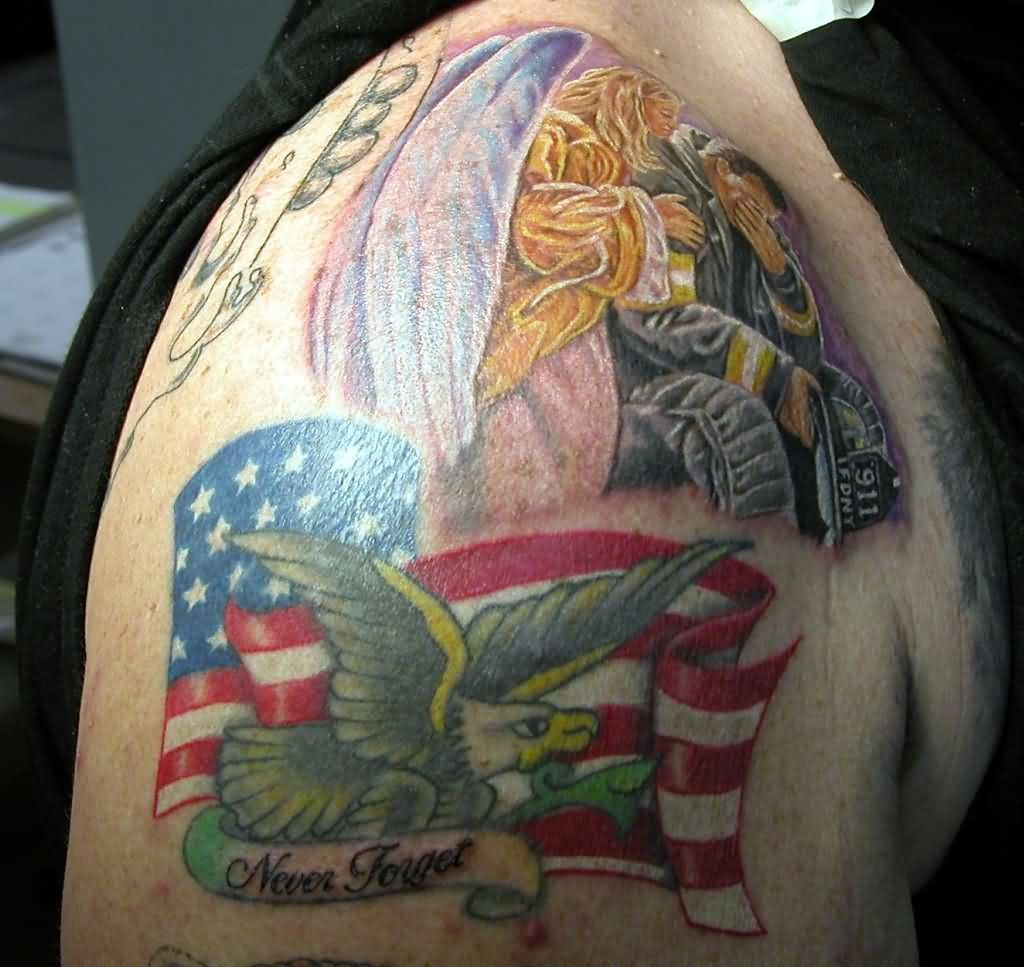 Never Forget - Patriotic Tattoos