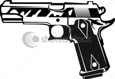 New Colt M Pistol Tattoo Sample