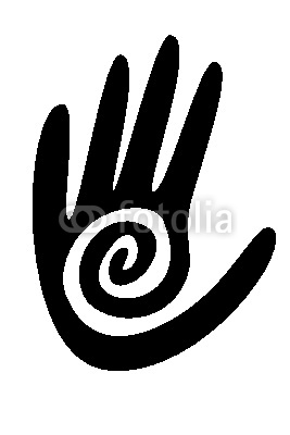 New Dark Black Native American Symbol Tattoo Design