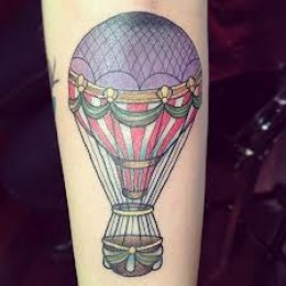 New Design Of Air Balloon Tatoto