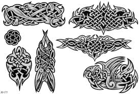New Grey Celtic Symbol Tattoo Designs