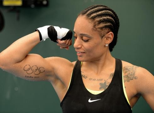 New Ink Olympic Rings Tattoos On Muscles