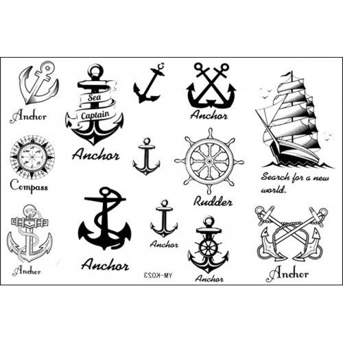 New Nautical Tattoos Set
